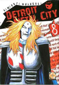 Copertina DETROIT METAL CITY (m10) n.8 - DETROIT METAL CITY, RW GOEN