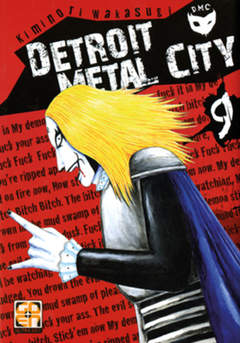 Copertina DETROIT METAL CITY (m10) n.9 - DETROIT METAL CITY, RW GOEN