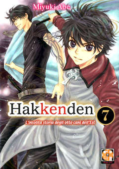 Copertina HAKKENDEN (m8) n.7 - LA STRANA STORIA DEGLI 8 CANI DELL'EST, RW GOEN
