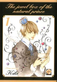 Copertina JEWEL BOX (m5) n.1 - TENNEN OUJI NO HOUSEKIBABO, RW GOEN