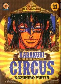Copertina KARAKURI CIRCUS (m43) n.11 - KARAKURI CIRCUS, RW GOEN
