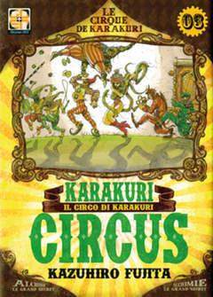 Copertina KARAKURI CIRCUS (m43) n.3 - KARAKURI CIRCUS , RW GOEN