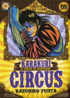Copertina KARAKURI CIRCUS (m43) n.9 - KARAKURI CIRCUS, RW GOEN