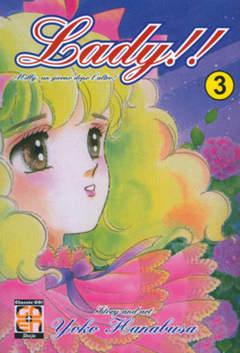 Copertina LADY!! (m12) n.3 - LADY!!, RW GOEN