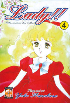 Copertina LADY!! (m12) n.4 - LADY!!, RW GOEN