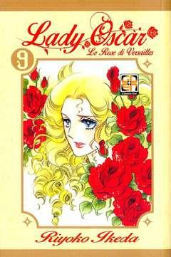 Copertina LADY OSCAR Edicola n.9 - LE ROSE DI VERSAILLES, RW GOEN