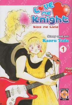 Copertina LOVE ME KNIGHT (m7) n.1 - KISS ME LICIA, RW GOEN