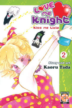 Copertina LOVE ME KNIGHT (m7) n.2 - KISS ME LICIA, RW GOEN