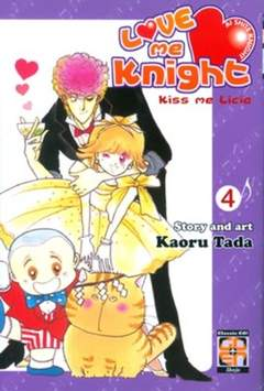 Copertina LOVE ME KNIGHT (m7) n.4 - KISS ME LICIA, RW GOEN
