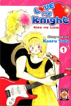 Copertina LOVE ME KNIGHT (m7) Ristampa n.1 - KISS ME LICIA, RW GOEN