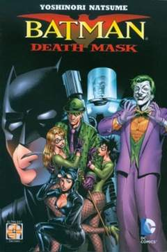 Copertina BATMAN DEATH MASK n. - BATMAN DEATH MASK, RW GOEN