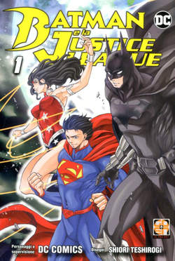 Copertina BATMAN & THE JUSTICE LEAGUE n. - BATMAN & THE JUSTICE LEAGUE, RW GOEN