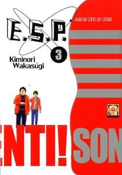 Copertina E.S.P. (m8) n.3 - ATTENTI! SONO UN ESPER!, RW GOEN
