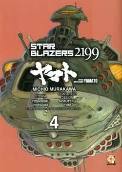 Copertina STAR BLAZERS 2199 n.4 - CORAZZATA SPAZIALE YAMATO 2199, RW GOEN