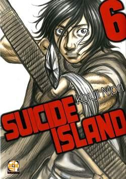 Copertina SUICIDE ISLAND (m17) n.6 - SUICIDE ISLAND, RW GOEN