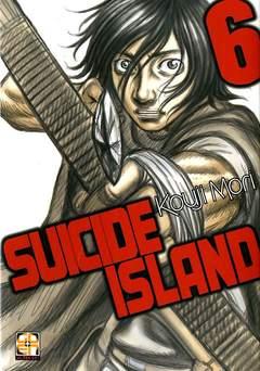 Copertina SUICIDE ISLAND n.6 - SUICIDE ISLAND, RW GOEN