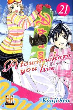 Copertina TOWN WHERE YOU LIVE (m27) n.21 - A TOWN WHERE YOU LIVE, RW GOEN