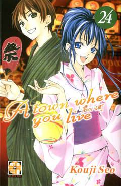 Copertina TOWN WHERE YOU LIVE (m27) n.24 - A TOWN WHERE YOU LIVE, RW GOEN
