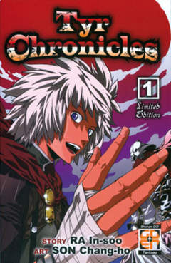 Copertina TYR CHRONICLES (m11) n.1 - TYR CHRONICLES, RW GOEN