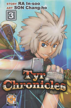 Copertina TYR CHRONICLES (m11) n.3 - TYR CHRONICLES, RW GOEN