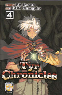 Copertina TYR CHRONICLES (m11) n.4 - TYR CHRONICLES, RW GOEN