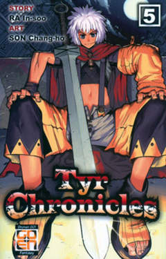 Copertina TYR CHRONICLES (m11) n.5 - TYR CHRONICLES, RW GOEN