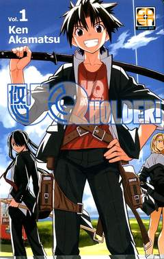 Copertina UQ HOLDER! n.1 - UQ HOLDER!, RW GOEN