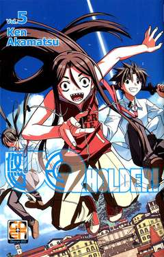Copertina UQ HOLDER! n.5 - UQ HOLDER!, RW GOEN