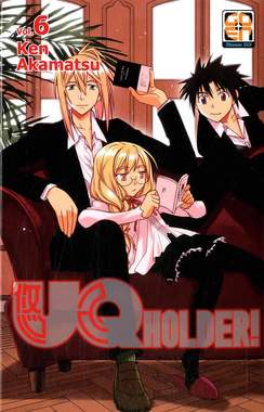 Copertina UQ HOLDER! n.6 - UQ HOLDER!, RW GOEN