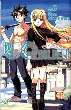 Copertina UQ HOLDER! n.8 - UQ HOLDER!, RW GOEN