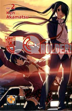 Copertina UQ HOLDER! (m13) n.2 - UQ HOLDER!, RW GOEN
