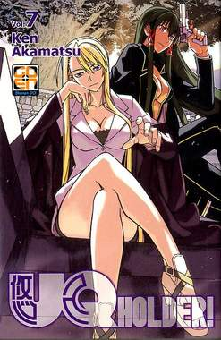 Copertina UQ HOLDER! (m13) n.7 - UQ HOLDER!, RW GOEN
