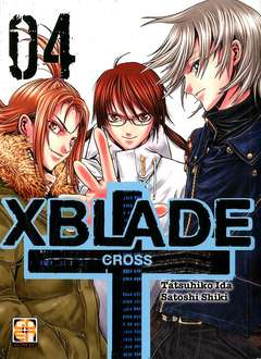 Copertina XBLADE CROSS (m8) n.4 - XBLADE CROSS, RW GOEN