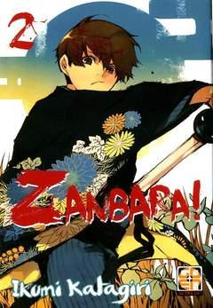 Copertina ZANBARA! (m3) n.2 - ZANBARA!, RW GOEN