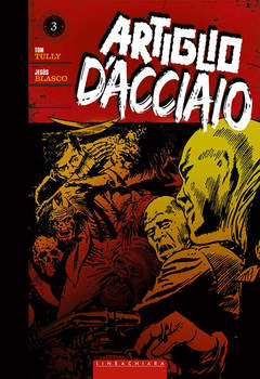 Copertina ARTIGLIO D'ACCIAIO n.3 - ARTIGLIO D'ACCIAIO, RW LINEA CHIARA