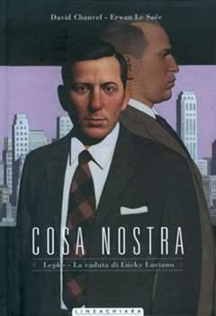 Copertina COSA NOSTRA n.5 - LEPKE E LUCKY LUCIANO, RW LINEA CHIARA