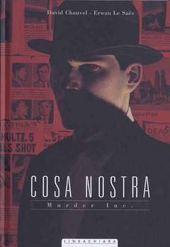 Copertina COSA NOSTRA n.4 - MURDER INC., RW LINEA CHIARA