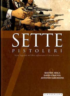 Copertina SETTE n.14 - SETTE PISTOLERI, RW LINEA CHIARA