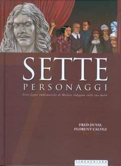 Copertina SETTE n.9 - SETTE PERSONAGGI, RW LINEA CHIARA
