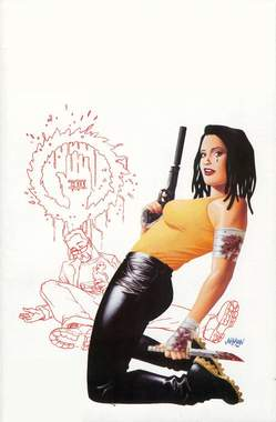 Copertina 100 BULLETS ristampa n.7 - 100 BULLETS - Ristampa, RW LION
