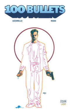 Copertina 100 BULLETS n.3 - VERTIGO MONTHLY 6, RW LION