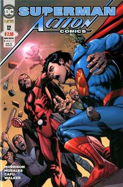 Copertina ACTION COMICS NEW 52 SPECIAL n.12 - ACTION COMICS, RW LION