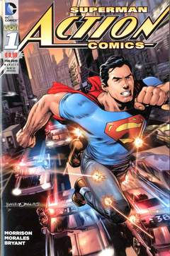 Copertina ACTION COMICS NEW 52 SPECIAL n.1 - ACTION COMICS, RW LION