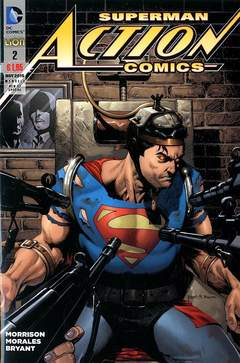 Copertina ACTION COMICS NEW 52 SPECIAL n.2 - ACTION COMICS, RW LION