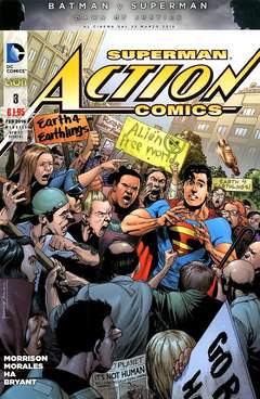 Copertina ACTION COMICS NEW 52 SPECIAL n.3 - ACTION COMICS, RW LION
