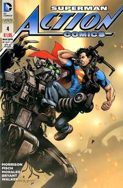 Copertina ACTION COMICS NEW 52 SPECIAL n.4 - ACTION COMICS, RW LION