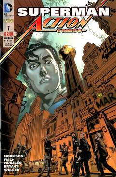 Copertina ACTION COMICS NEW 52 SPECIAL n.7 - ACTION COMICS, RW LION