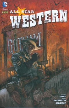 Copertina ALL STAR WESTERN n.1 - DC EDGE 1, RW LION