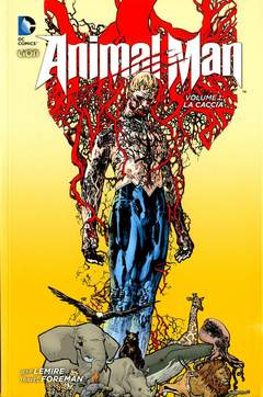 Copertina ANIMAL MAN New 52 Library n.1 - LA CACCIA, RW LION