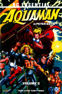 Copertina AQUAMAN DI PETER DAVID n.3 - AQUAMAN DI PETER DAVID, RW LION